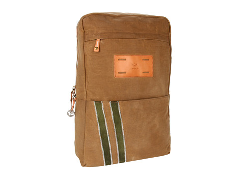 J.Fold - Roadster Backpack (Tan/Army) Backpack Bags