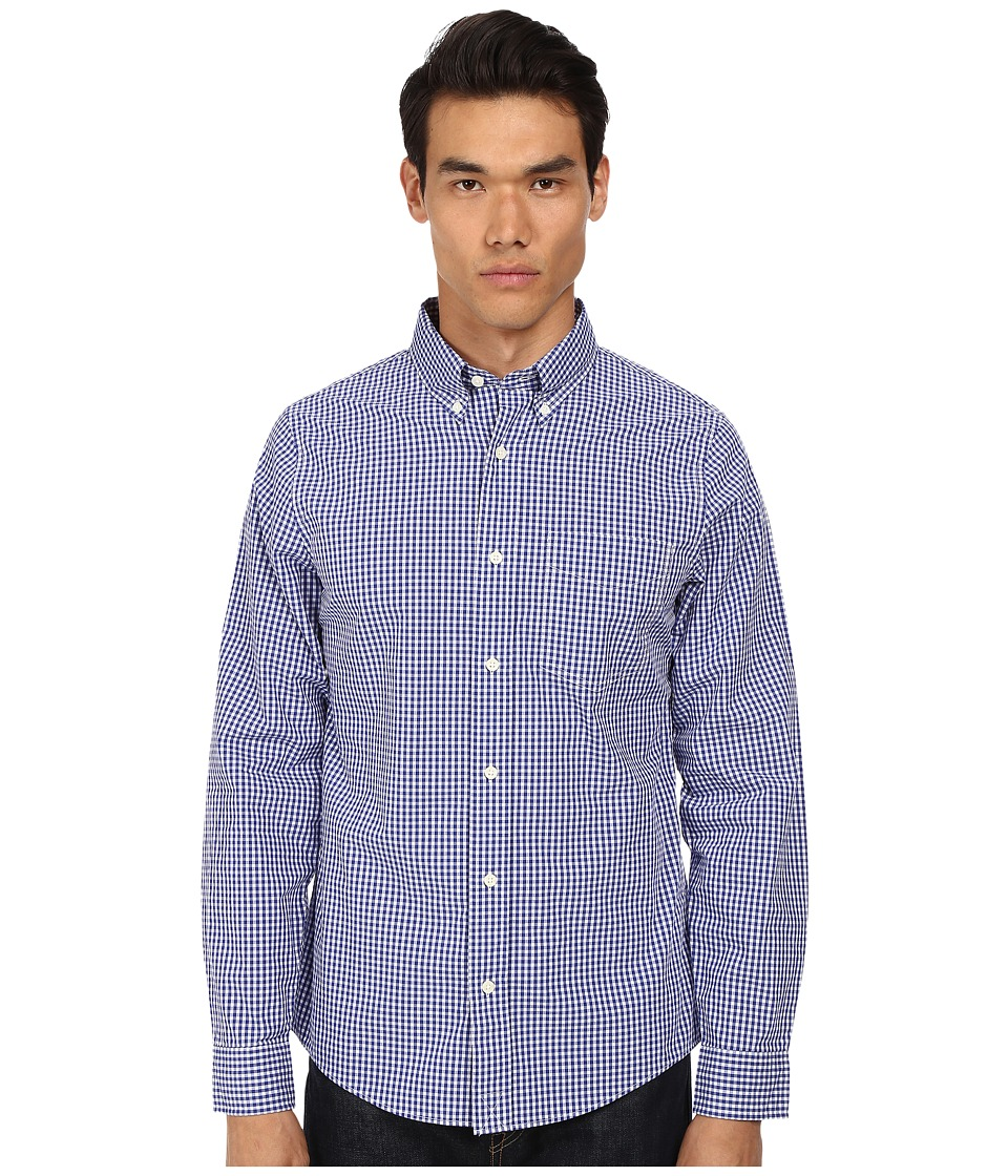 Jack Spade - Ernest Gingham Shirt (Navy) Men