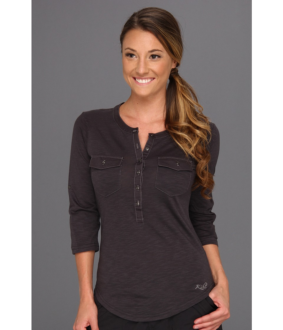 Kuhl - Khloe (Black) Women's Long Sleeve Pullover