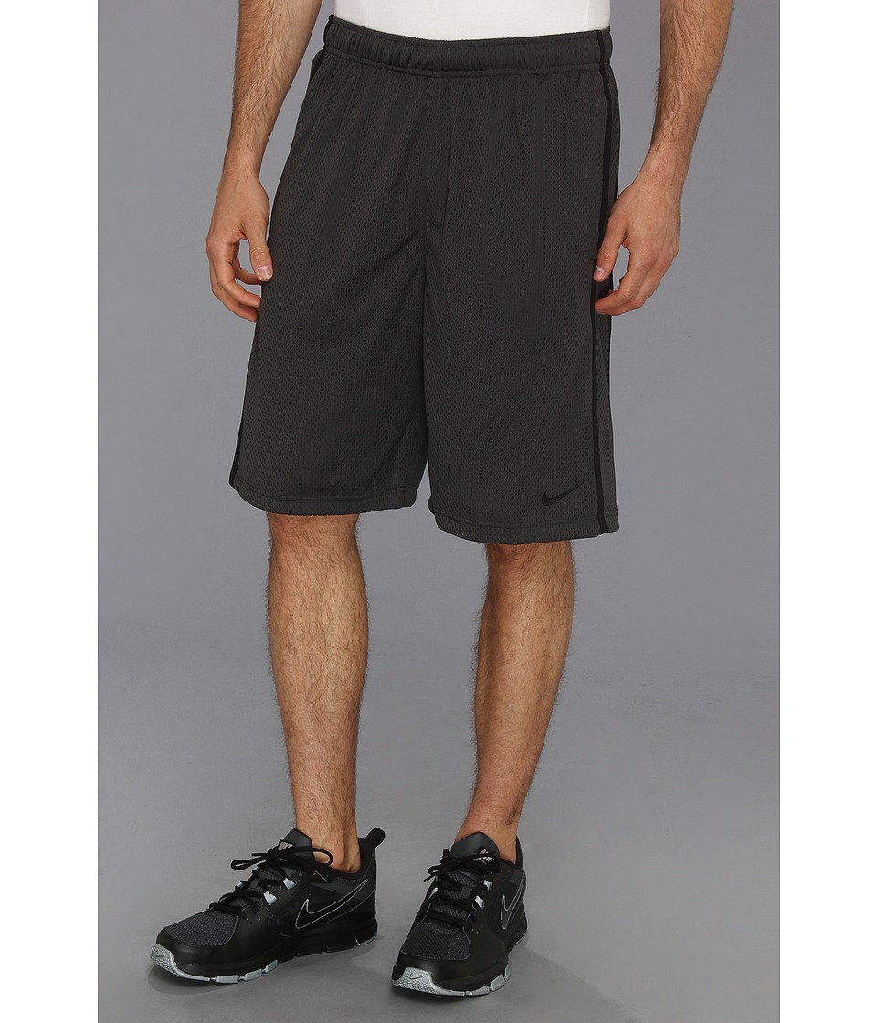 Nike - Monster Mesh Short (Anthracite/Black/Black) Men's Workout