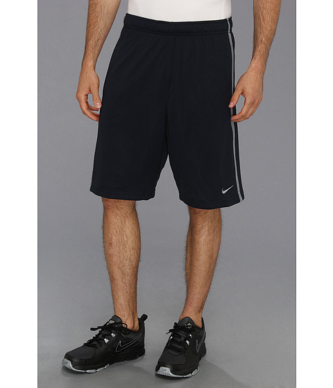 Nike - Monster Mesh Short (Dark Obsidian/Cool Grey/Cool Grey) Men's Workout