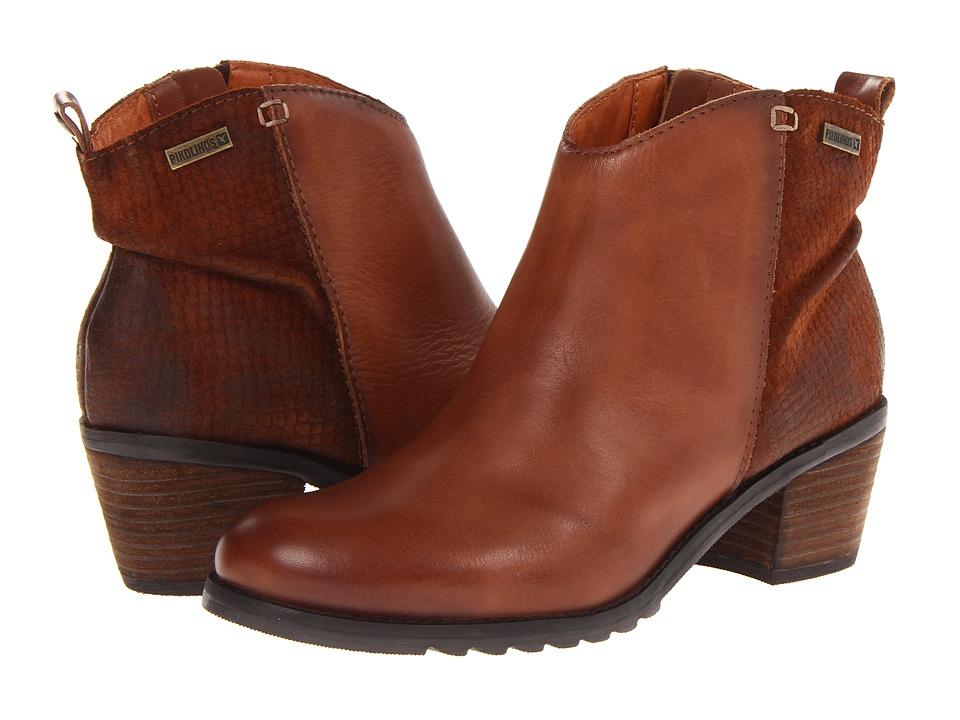 Pikolinos - Andorra 913-9810 (Cuero/Ron) Women's Shoes