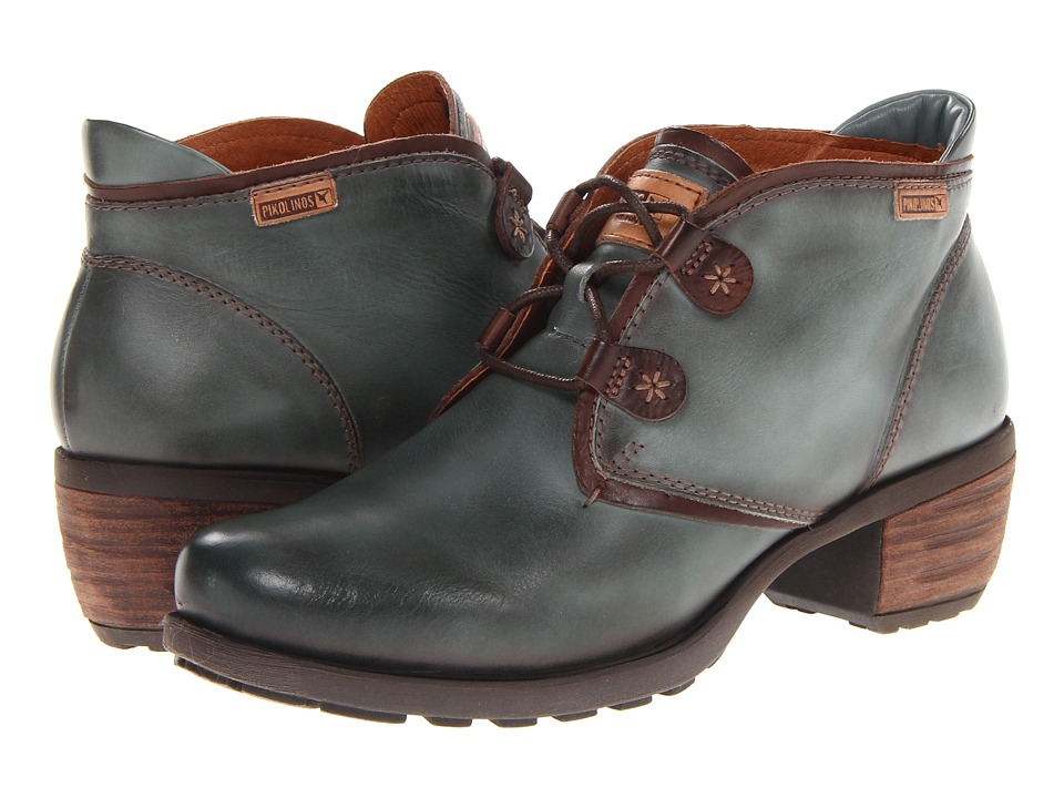 Pikolinos - Le Mans 838-8657 (Zafiro/Olmo) Women's Lace-up Boots