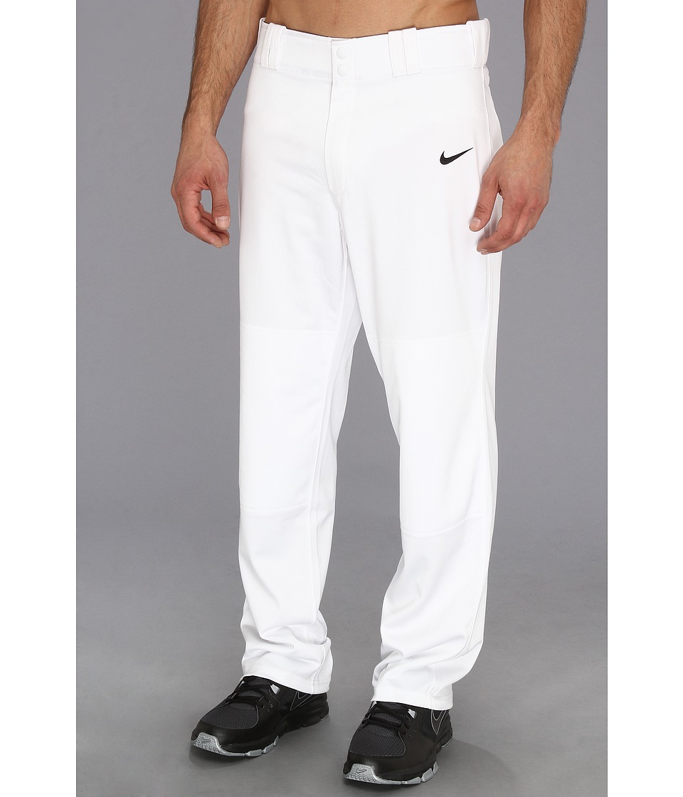 Nike - Longball Baseball Pant (Team White/Team Black) Men's Workout