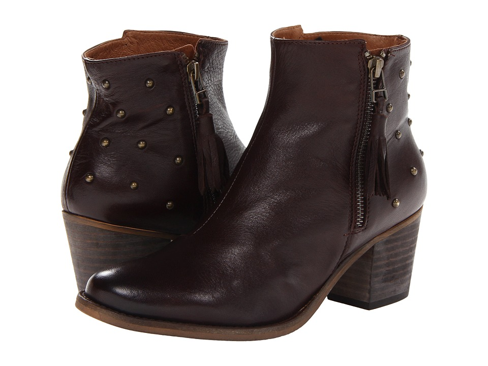 Eric Michael - Yuma (Brown) Women's Zip Boots