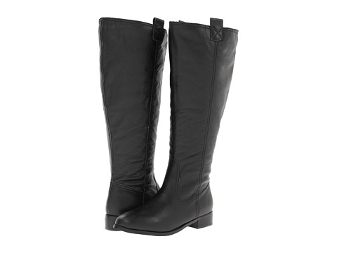 Lumiani International Collection - Lacey Extra Wide Calf (Black Pebble Calf) Women's Wide Shaft Boots