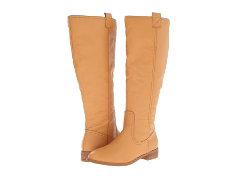 Lumiani International Collection - Lacey Extra Wide Calf (Natural Pebble Calf) Women's Wide Shaft Boots
