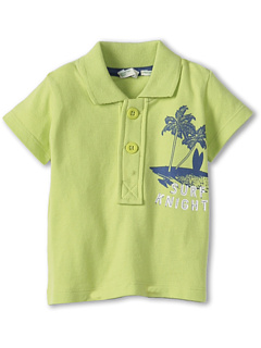 SALE! $9.99 - Save $20 on United Colors of Benetton Kids Boys` Pique Graphic Polo (Infant) (Lime Green) Apparel - 66.59% OFF $29.90