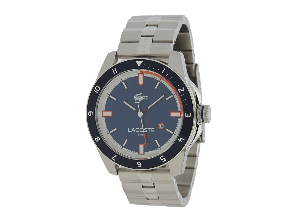 Lacoste - Durban 2010701 (Stainless Steel/Blue) Watches
