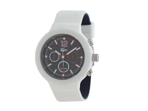 Lacoste - BORNEO 2010705 (White) Analog Watches