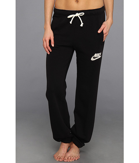 Nike - Rally Loose Pant (Black/Heather/Sail) Women's Casual Pants