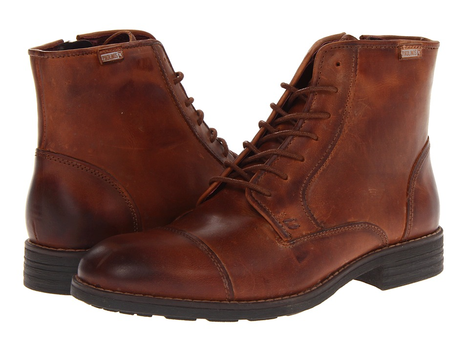 Pikolinos - Pamplona 03Q-6467 (Cuero) Men's Dress Lace-up Boots