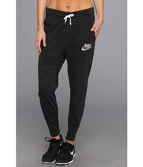 UPC 884497295671 product image for Nike Gym Vintage Pant (Black Sail)  Women s Casual ... 327d66d25