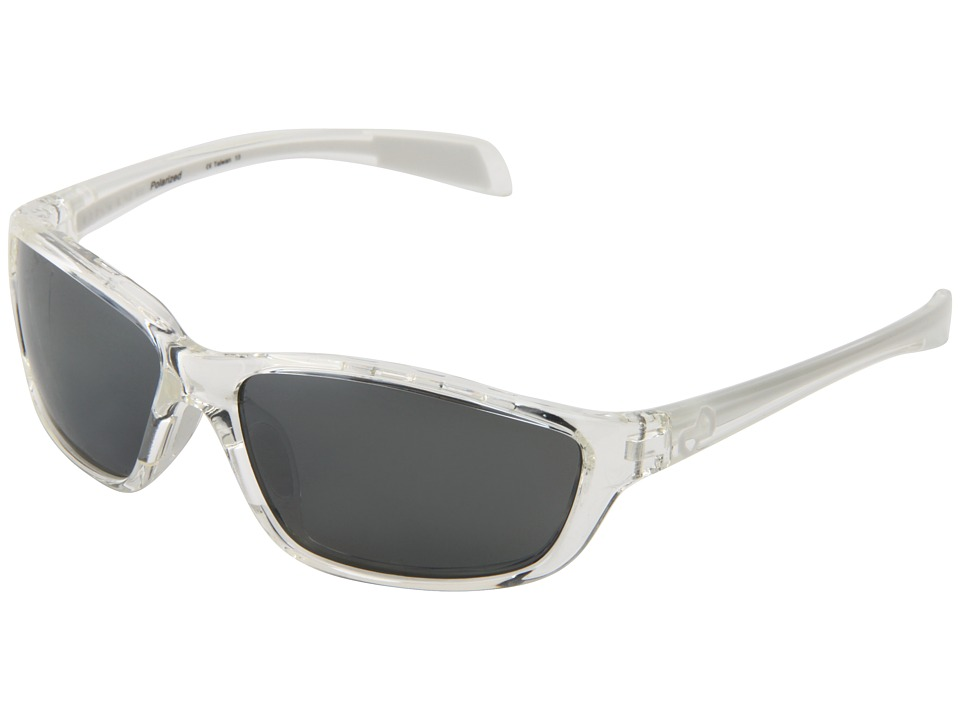 Native Eyewear - Kodiak (Crystal/White/Silver Reflex Lens) Athletic Performance Sport Sunglasses