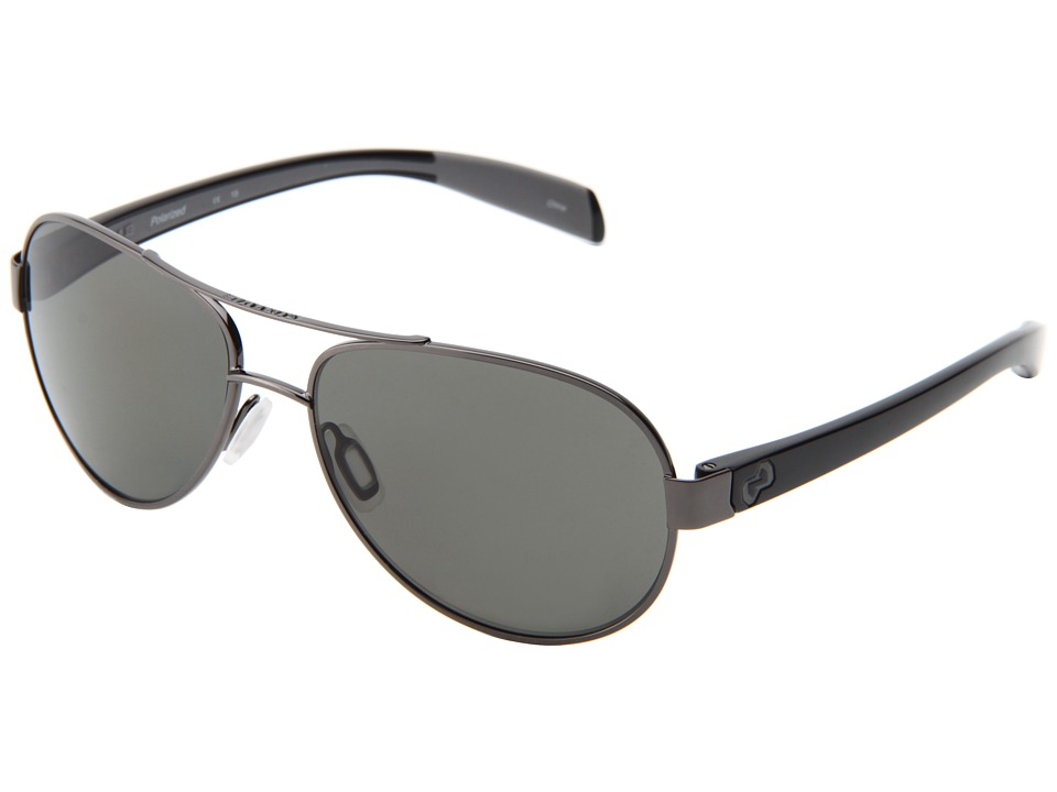 Native Eyewear - Haskill (Gunmetal/Iron/Grey/Gray Lens) Athletic Performance Sport Sunglasses