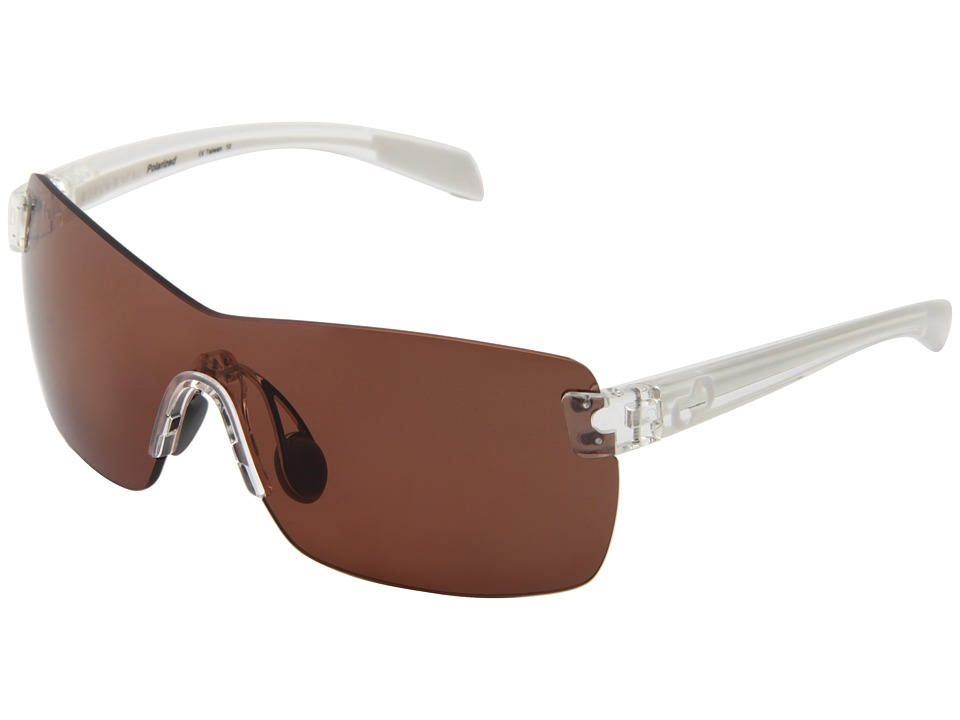 Native Eyewear - Camas (Crystal/White/Copper Lens) Athletic Performance Sport Sunglasses