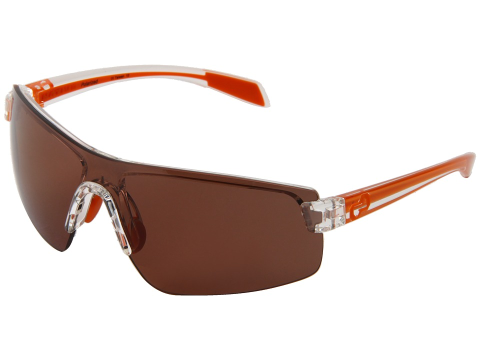 Native Eyewear - Lynx (Crystal/Orange/Copper Lens) Athletic Performance Sport Sunglasses