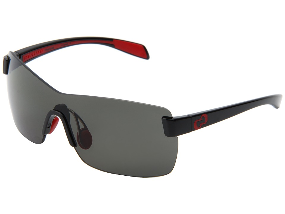 Native Eyewear - Camas (Iron/Gray Lens) Athletic Performance Sport Sunglasses