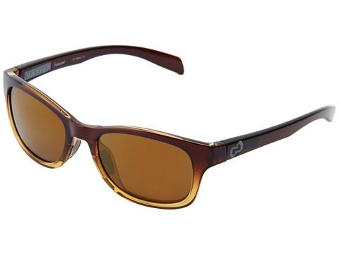 Native Eyewear - Highline (Stout Fade/Iron Temple/ Grey/Bronze Reflex Lens) Athletic Performance Sport Sunglasses