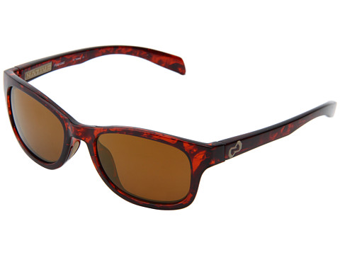Native Eyewear - Highline (Maple Tort/Sand/Bronze Reflex Lens) Athletic Performance Sport Sunglasses