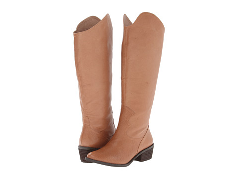 Naughty Monkey - Same Note (Tan) Women's Boots