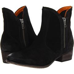 Seychelles Lucky Penny (Black Suede) Footwear