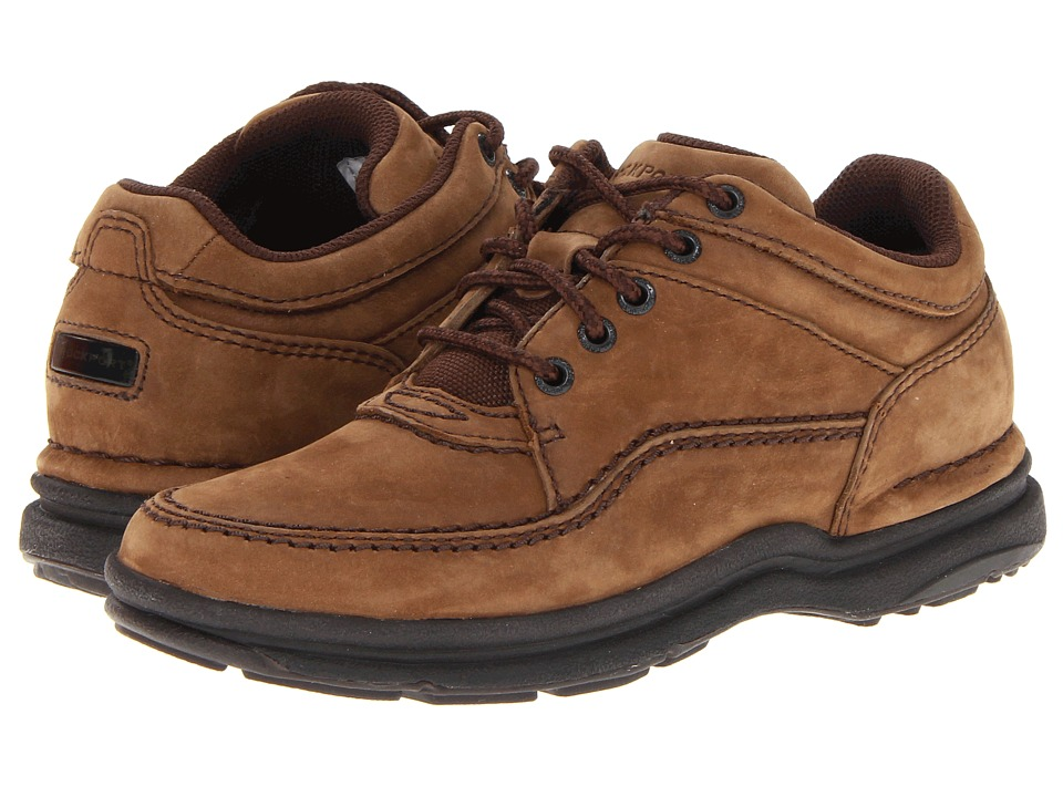 Rockport - World Tour Classic (Chocolate Nubuck) Women's Lace up casual Shoes