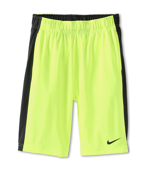 Nike Kids - Fly Short (Little Kids/Big Kids) (Volt/Anthracite) Boy's Shorts