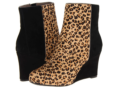 Rockport - Seven To 7 85mm Wedge Bootie (Leopard) Women's Boots