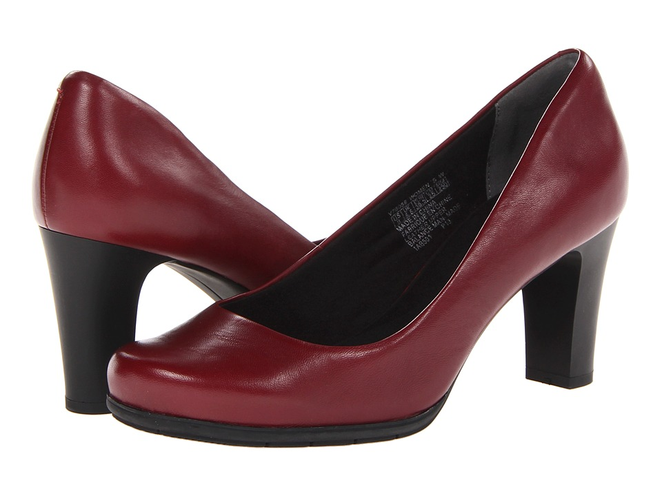 Rockport - Total Motion 75mm Plain Pump (Cordovan) High Heels