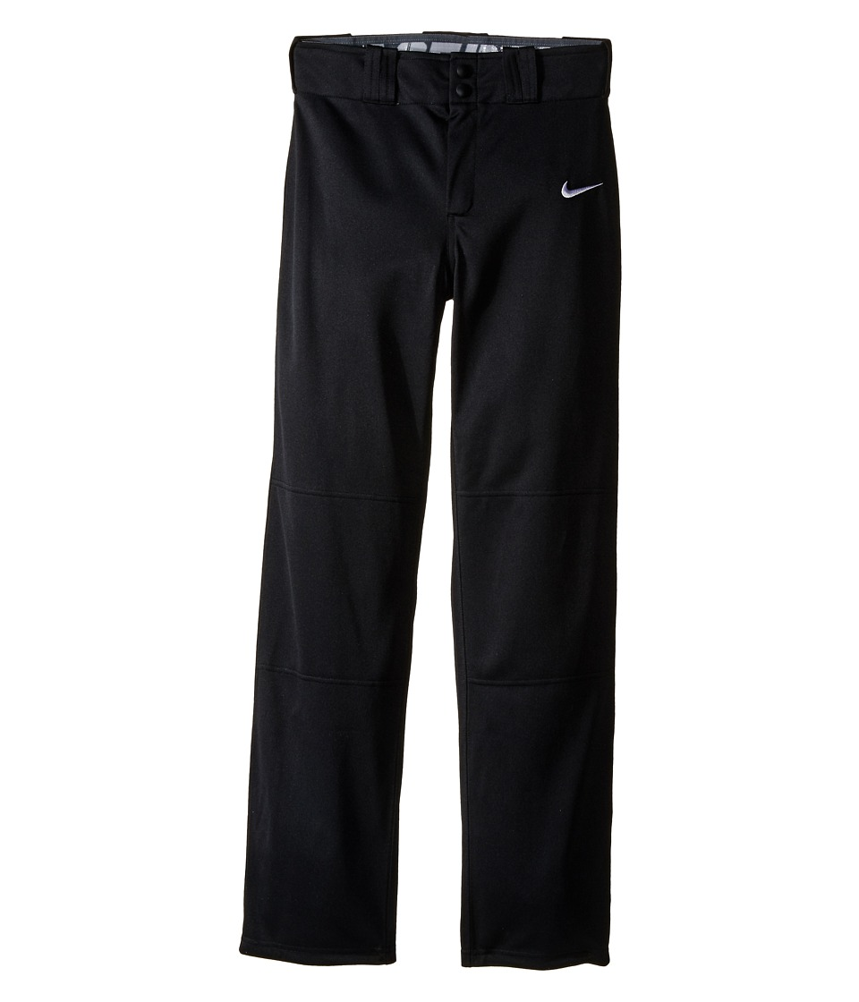 Nike Kids - STK Baseball Longball Pant (Little Kids/Big Kids) (Black/White) Boy