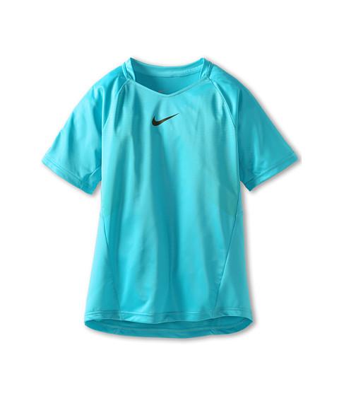 Nike Kids - Contemporary Athlete Top (Little Kids/Big Kids) (Gamma Blue/Dark Loden) Boy's Short Sleeve Pullover