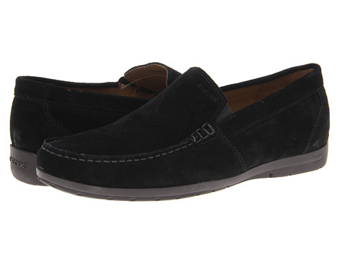 Geox - UOMO Simon W (Black) Men's Shoes