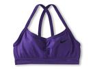 Nike Kids Ya Victorious Bra (Little Kids/Big Kids) (Court Purple/Black)
