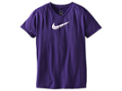 Nike Kids Legend Swoosh V-Neck Fill Short-Sleeve Tee