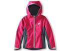 Nike Kids Ya Ultimate Practice Jacket (Little Kids/Big Kids) (Pink Force/Armory Slate/Armory Slate/Metallic Silver)