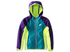 Nike Kids Ya Ultimate Practice Jacket (Little Kids/Big Kids) (Electro Purple/Volt/Tropical Teal/Metallic Silver)