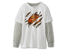 Nike Kids Swoosh Badge 2-Fer Tee