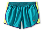Nike Kids Tempo Short (Little Kids/Big Kids) (Tropical Teal/Volt/Court Purple/Atomic Red)
