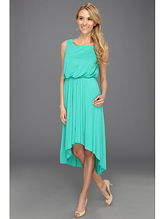 SALE! $51.99 - Save $76 on Vince Camuto Sleeveless Maxi Dress w Asymmetrical Hem Draped Back (Green) Apparel - 59.38% OFF $128.00