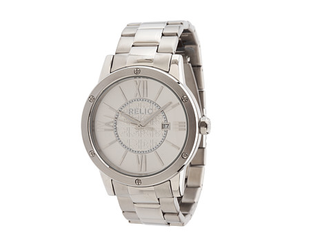 Relic - Payton Hardware Bracelet (Silver) Watches