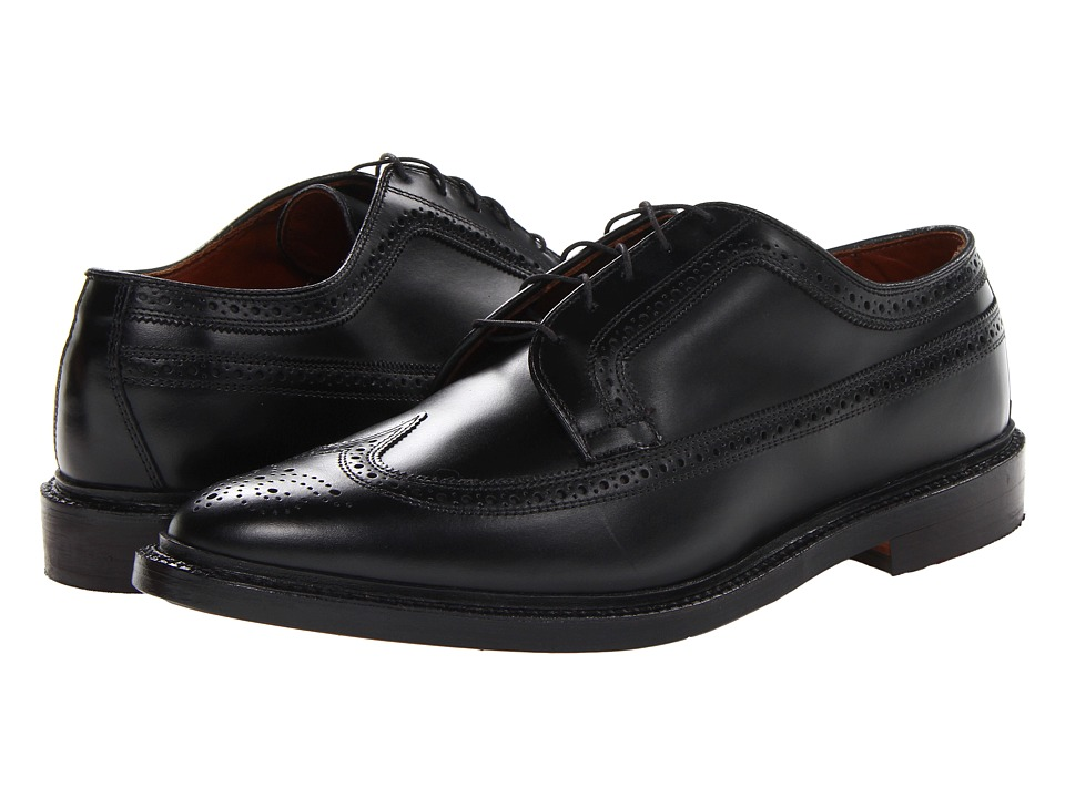 Allen-Edmonds - MacNeil (Black Custom Calf) Men's Lace Up Cap Toe Shoes