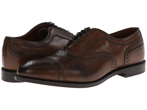 Allen-Edmonds - Strand (Bourbon Calf) Men's Lace Up Cap Toe Shoes