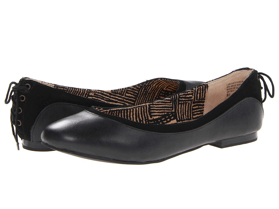 Seychelles - Save Face (Black) Women's Slip on Shoes