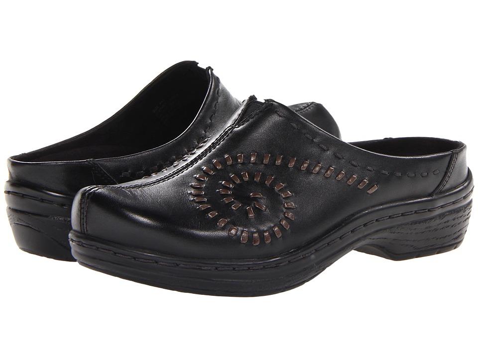 Klogs Footwear - Tina (Black) Women's Clog Shoes