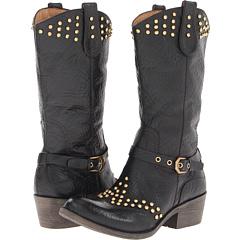 Naya Sable (Black Leather) Footwear