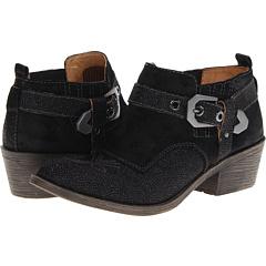 Naya Selma (Black Sparkle Leather Suede) Footwear