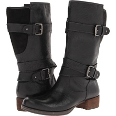 Naya Silence (Black Leather) Footwear