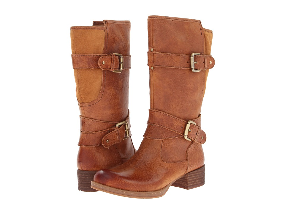 Naya - Silence (Spice Girl Tan Leather) Women's Zip Boots