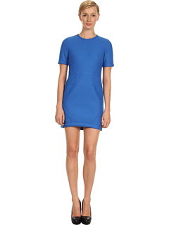 SALE! $216.99 - Save $178 on Tibi Bonded Techy Twill S S Dress (Ultramarine) Apparel - 45.07% OFF $395.00
